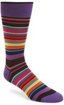 Bugatchi Men's Stripe Socks