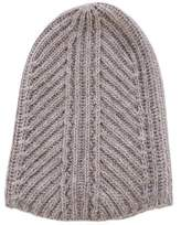 Helmut Lang Rib Knit Fitted Beanie