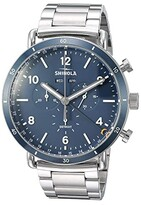 Shinola Detroit The Canfield Sport Chronograph Calendar 45mm - 20089890 (Polished/Brushed Stainless Steel Bracelet/Midnight Blue Dial) Watches