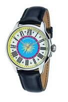 Morellato Men's SG4003 Astrario Black Calfskin Band Watch.