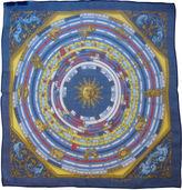 One Kings Lane Vintage Hermès Astrologie Chiffon Pochette Scarf