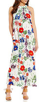 Chelsea & Theodore Floral Maxi Dress