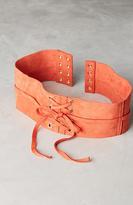 Linea Pelle Lace-Up Corset Belt