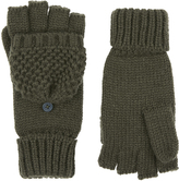 Accessorize Chunky Capped Gloves