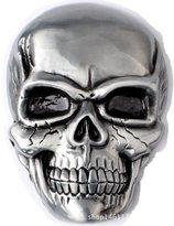 Sam Store Vintage Color Skull Belt Buckle Western Cowboy (SK-01)