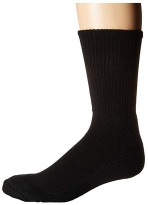 Wigwam At Work Steel Toe (Black) Crew Cut Socks Shoes