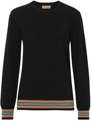 Burberry Merino Wool Knit Crewneck Sweater