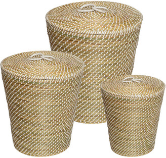 Honey-Can-Do 3Pc Woven Bins