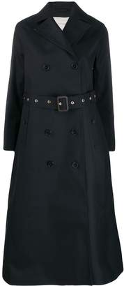 MACKINTOSH double breasted long trench coat
