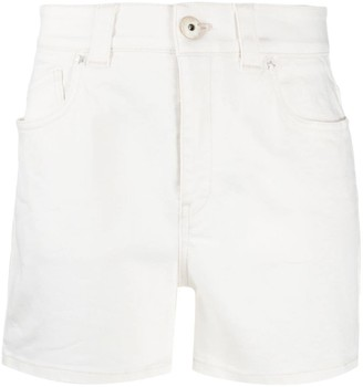 Lorena Antoniazzi Straight-Leg Denim Shorts