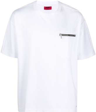 HUGO BOSS chest zip pocket T-shirt