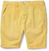 Gant Straight-Leg Cotton and Linen-Blend Chino Shorts