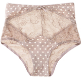 Blush Lingerie Retro Polka Dot Print Brief