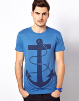 Jack and Jones T-Shirt With Anchor Print