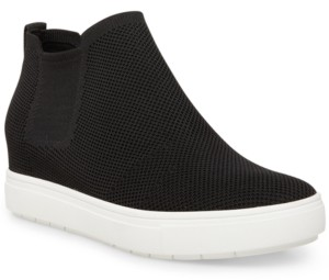 STEVEN NEW YORK Women's Chime Knit High-Top Sneakers