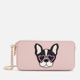 Kate Spade Women's Sylvia Francois Mini Cross Body Bag - Tutu Pink