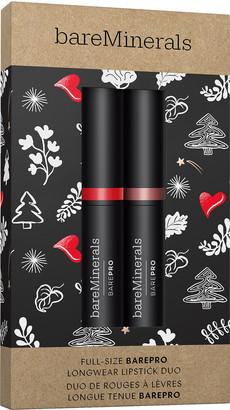bareMinerals BarePro Longwear Lipstick Duo