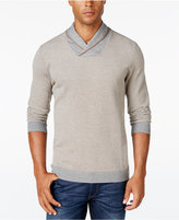 Tasso Elba Men's Shawl-Collar Sweater, Only at Macy's