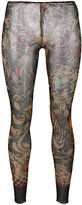 DSQUARED2 printed leggings - women - Polyamide/Spandex/Elastane - S
