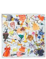 Christian Lacroix x Brian Kenny Sweetie Silk Scarf