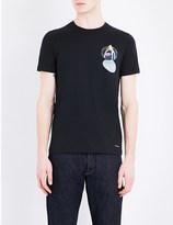 Paul Smith Graphic-print cotton-jersey t-shirt