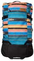 Dakine New Women's Split Roller 100L Travel Bag Lace Mesh Baja Sunset N/A