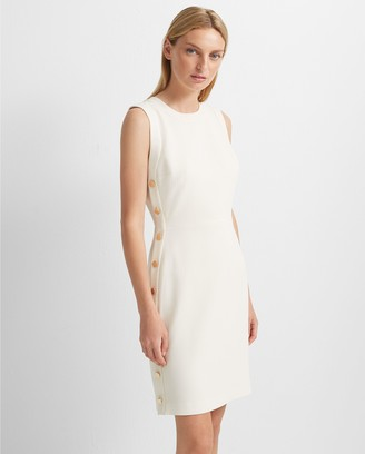 Club Monaco Button Sheath Dress