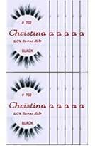 Christina Eyelashes 702 - (12 Pack)