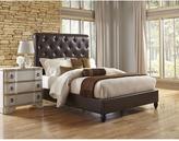 Pulaski Furniture All-in-1 Brown Queen Sleigh Bed