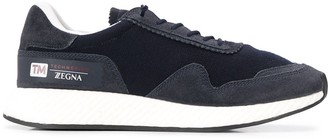 Ermenegildo Zegna Lace-Up Low-Top Sneakers