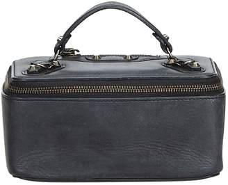 Balenciaga Black Leather Travel bags
