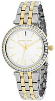 Michael Kors Mini Darci Collection MK3405 Women's Analog Watch with Crystal Accents
