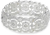 VIESTE ROSA Vieste Crystal Lace-Look Stretch Bracelet