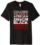 Hebrew Israelite T-Shirt I'm Not Colored African American