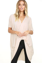 Love Stitch Consideration Light Blush Wrap Sweater