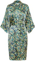 Genevie Bloomsbury Silk Kimono Robe