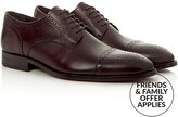 Reiss Men's Kolmer Leather Toe Cap Brogues