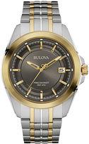 Bulova UHF Precisionist Mens Two-Tone Stainless Steel Watch 98B273