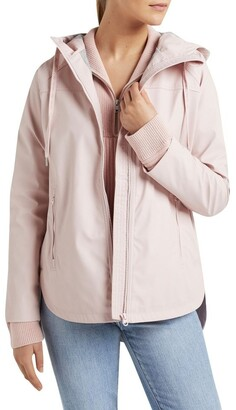 French Connection Curved Hem Raincoat