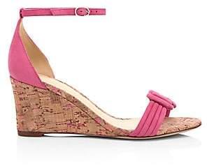 Alexandre Birman Women's Vicky Suede Wedge Heel Sandals
