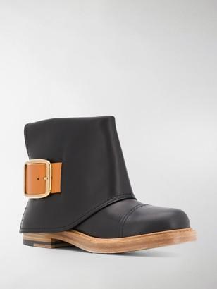 Alexander McQueen Cuff ankle boots
