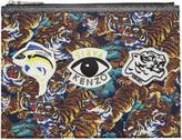 Kenzo Multicolor Multi Icons Pouch