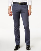 Vince Camuto Men's Indigo Cavalry Twill Stretch Pants