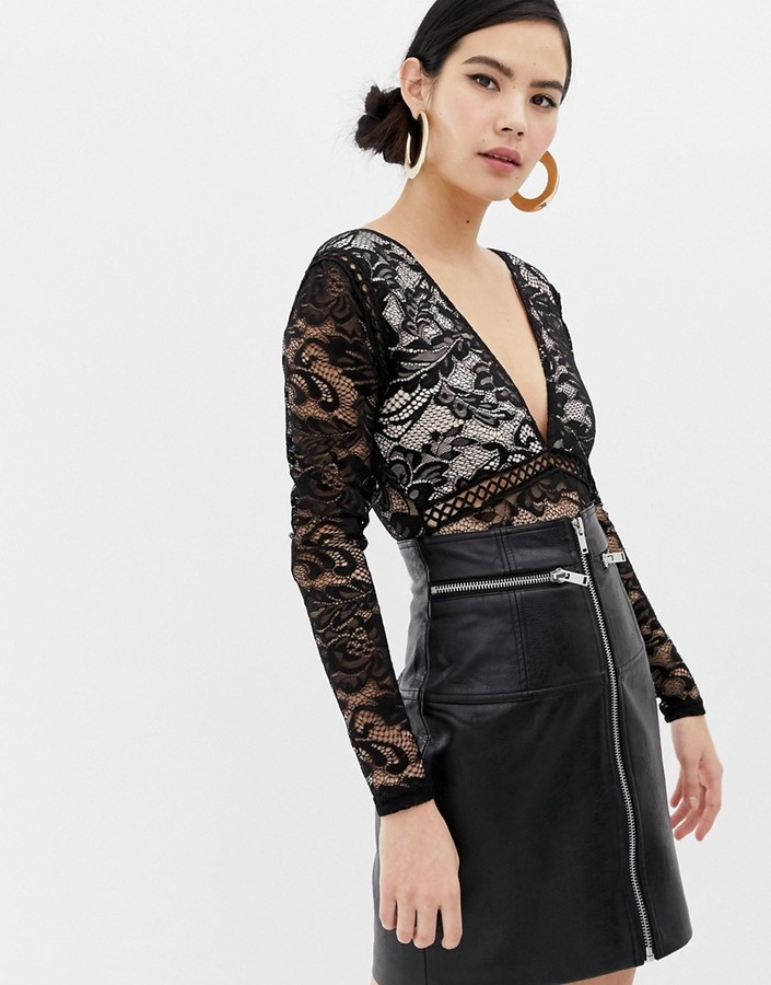 Thumbnail for your product : Parisian lace body
