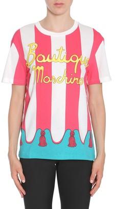 Boutique Moschino Logo Crewneck T-Shirt