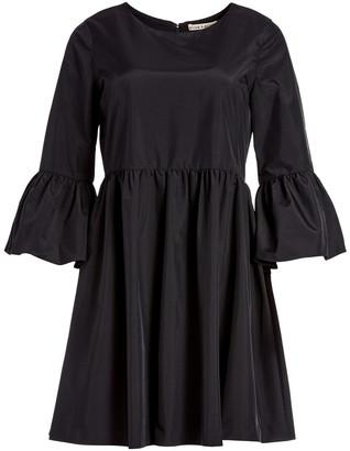 Alice + Olivia Augusta Ruffle Sleeve Mini Dress
