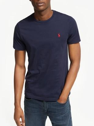 Ralph Lauren Polo Short Sleeve Custom Fit Crew Neck T-Shirt