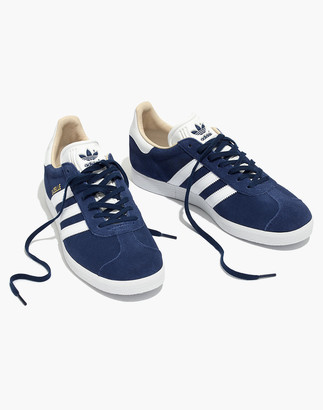Madewell Adidas Gazelle Lace-Up Sneakers