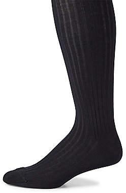 Marcoliani Milano Men's Ribbed Merino Wool Blend Socks
