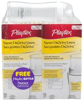 Playtex Nurser Drop-Ins Liners 2 - 8 Ounce with Free Nurser - 50 Count